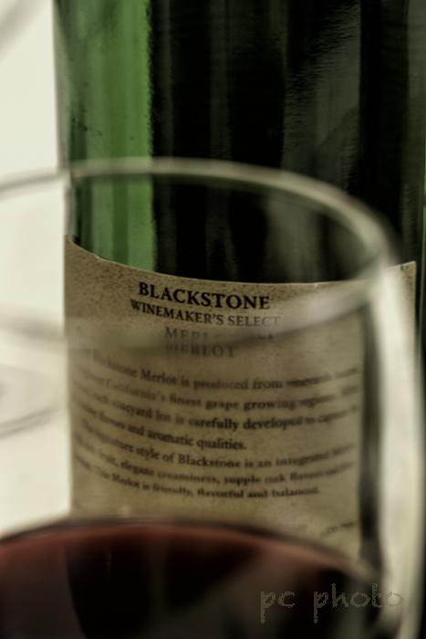 Writing wine label1