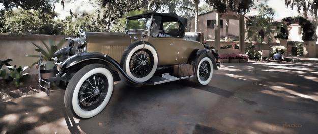 The Wanderer Antique Car1