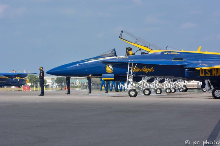 #2 Blue Angel pilots assembling-294