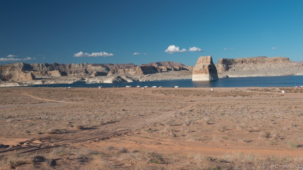 Lake Powell campsites  1  -5412