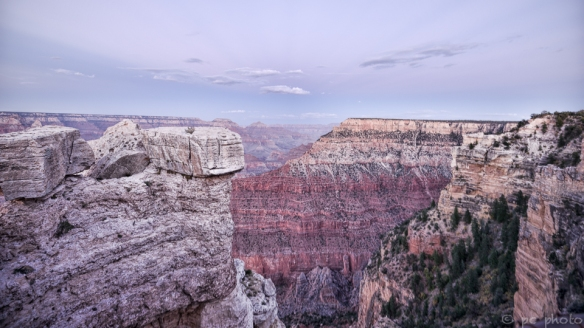 sunset Grand Canyon South Rim-